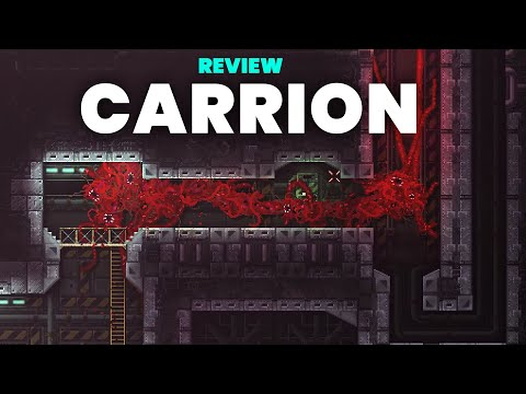 CARRION Review - Innovative 2D Reverse Horror Action Adventure Game