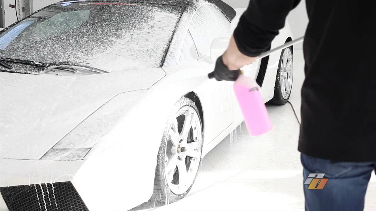 How To Wash Car Without Foam Gun