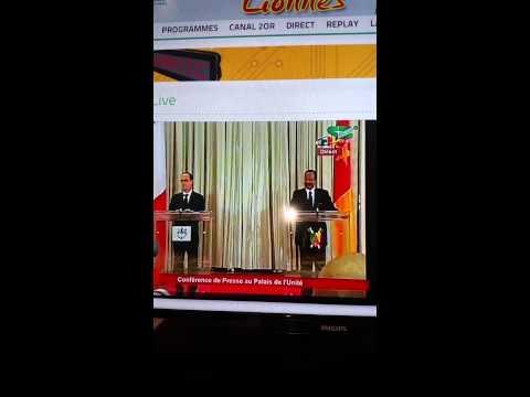 Pdt Paul Biya clashe le journaliste de France 2