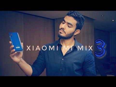 Xiaomi mi mix 3 | اول موبايل بيتزحلق