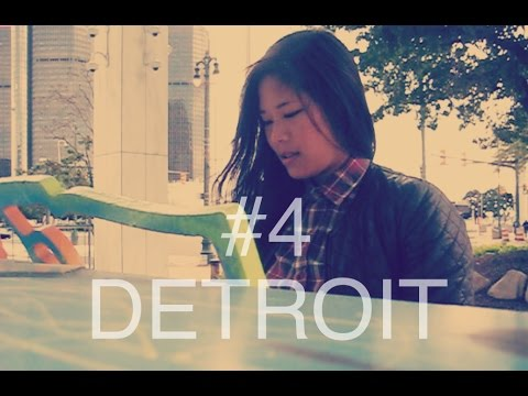 VLOG #4 - Detroit. FMA, Eastern Market and Deodorant