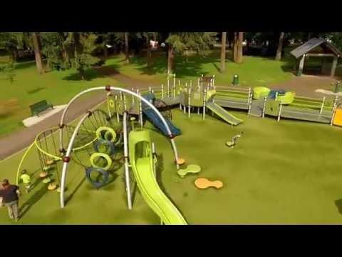 Evergreen Rotary Park-Playground