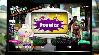 Splatoon 2 Splatfest #9 Results (Chicken vs Egg) (North America)