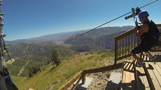 Sundance Mountain Resort Zipline in Utah