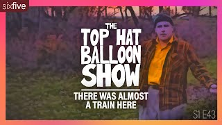 """There Was Almost A Train Here"" 