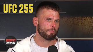 Tim Means Breaks Down Win Vs. Mike Perry At UFC 255 | ESPN MMA