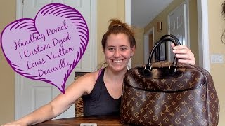 Handbag Reveal | My Custom Dyed Louis Vuitton Dauville
