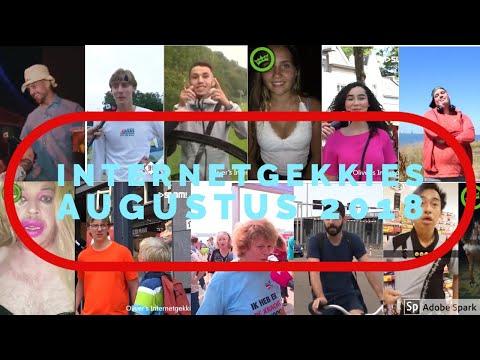 De Internetgekkies van de maand Augustus 2018