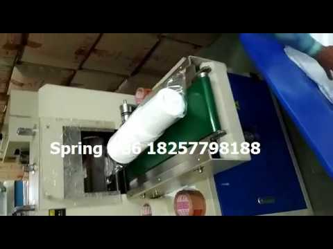 disposable plastic glass automatic wrapping machine