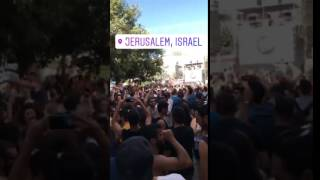 Jerusalem Summer street rave party 2017