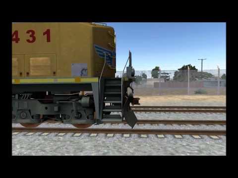 Run 8: Train Simulator. Lets get going.