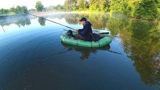 Рыбалка на красивом озере на карпа и амура Уха из карпа и амура