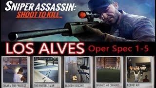 Sniper 3D LOS ALVES SPEC OPS 1-5