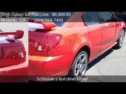 2006 Saturn Ion Red Line Base 4dr Coupe For Sale In Modesto Youtube