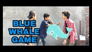 Blue whale game in india - funny short film - spum
