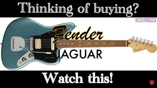 Thinking of buying a PLAYER SERIES FENDER JAGUAR? - WATCH THIS REVIEW!! 2018