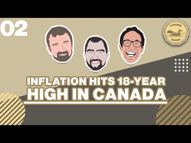 Inflation Hits 18 Year High In Canada - The Loonie Hour Episode 02