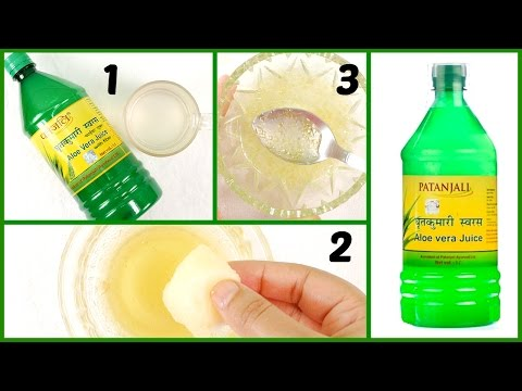 How to Use Patanjali Aloe Vera Juice for Glowing Skin & Healthy Hair + Review