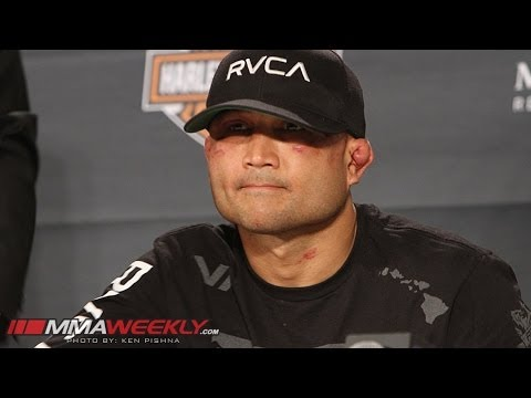 An Emotional BJ Penn Retires from MMA (TUF 19 Finale Press Conference)