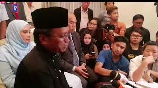 Shafie Apdal press conference after swearing in ceremony