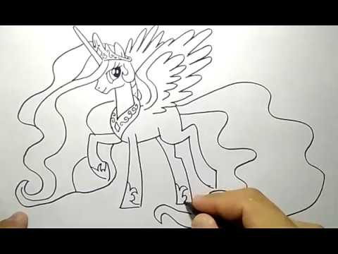 Cara Menggambar Little Pony Youtube