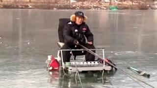 Зимняя рыбалка на льду летними удочками по-корейски...(Видео иллюстрация к заметке №900 в блоге I-вана Q-либина - http://iqfiles.blogspot.com: