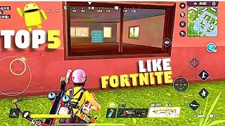 Top 5 Games Like Fortnite for Android 2018 - GameZone