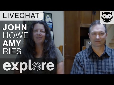 John Howe and Amy Ries - Raptor Resource Project - Live Chat