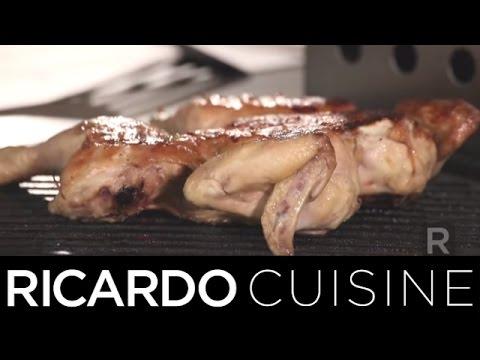 Comment faire cuire avec os Poitrines de poulet sur un