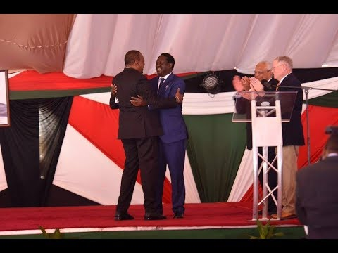"Uhuru Kenyatta to Raila Odinga, ""Bro, forgive me."""