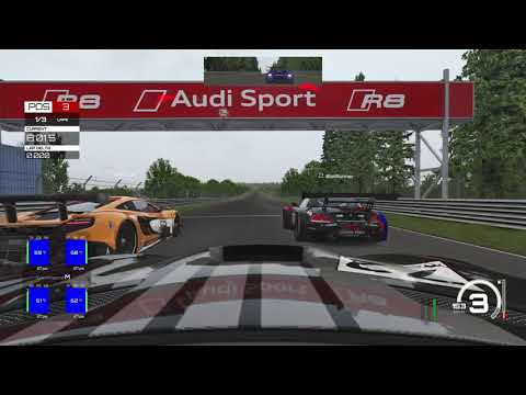 Assetto Corsa Ultimate gt3 action |