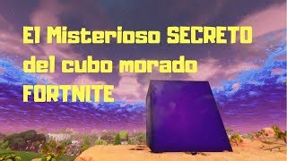 Fortnite Purple Cube ? The Mysterious SECRET Qu'est-ce que c'est?
