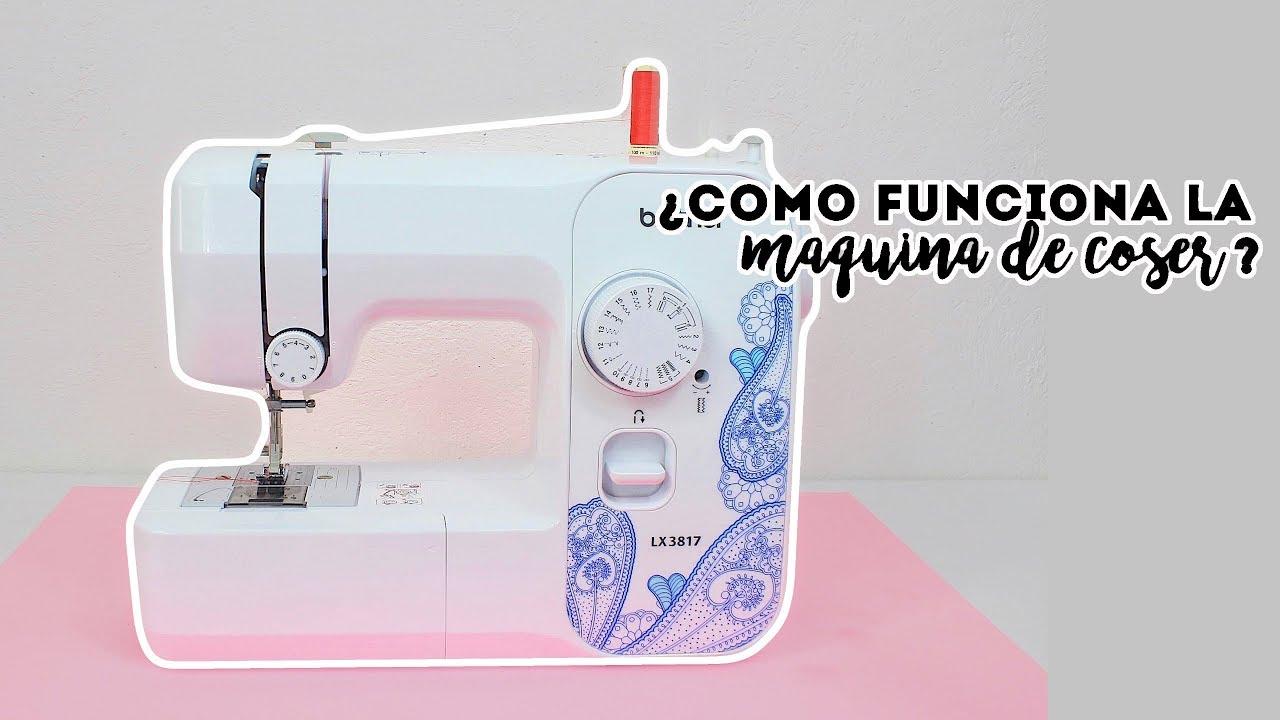 ¿Como funciona la maquina de coser? ♡
