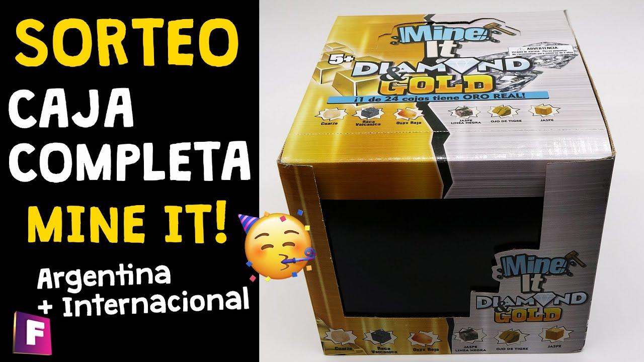 Sorteo Caja Completa MINE IT! Diamond and Gold - (Argentina + Internacional)   Foro de minerales