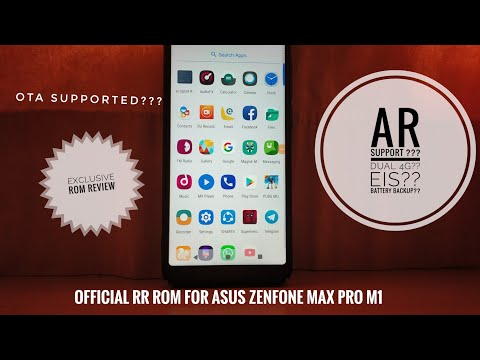 Official Resurrection Remix 6.1 |for  Asus Zenfone max pro m1 | AR support| EIS supported