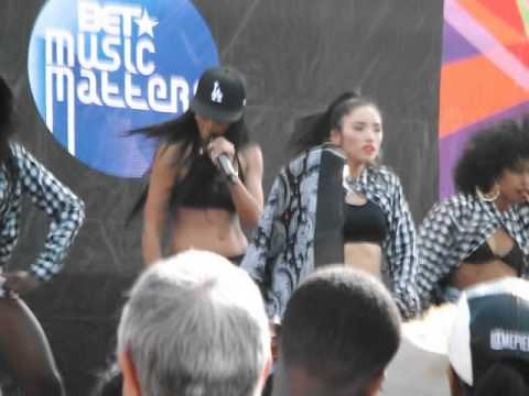 Mila J - Smoke, Drink, Break-Up (live performance at BET Music Matters in Los Angeles)
