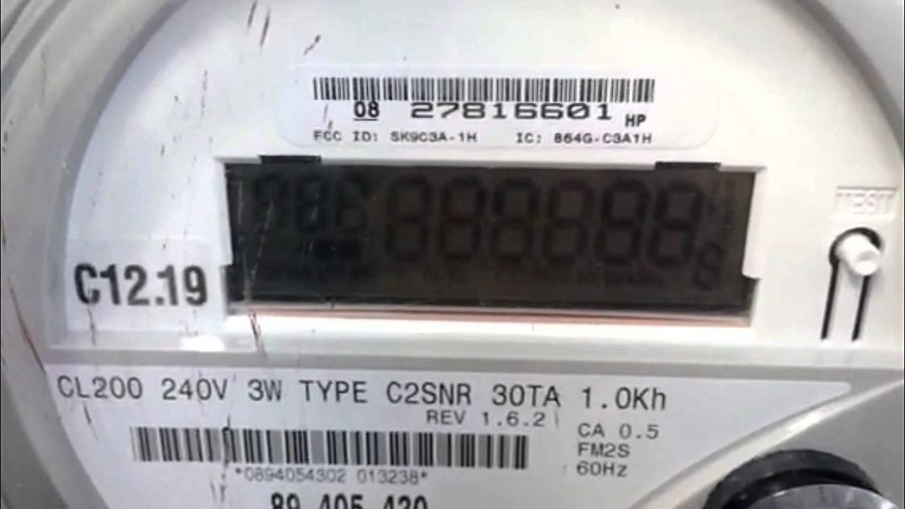 How To Read A Net Meter Youtube