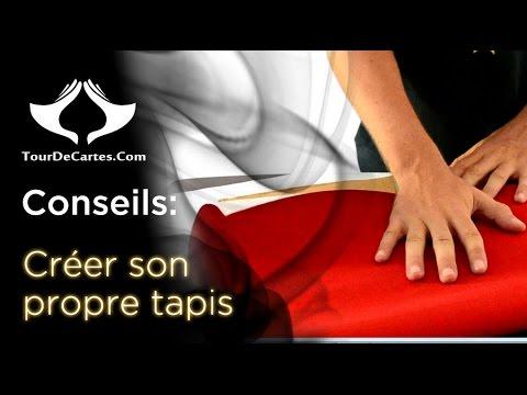 Creer Son Propre Tapis Pour Pas Cher Tourdecartes Com Youtube