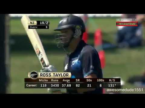 Ross Taylor 181 runs in 147 ball l eng Vs nz 4th odi