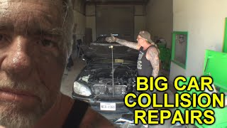 How Can I Stay In Business Working For FREE? Major Collision Repairs
