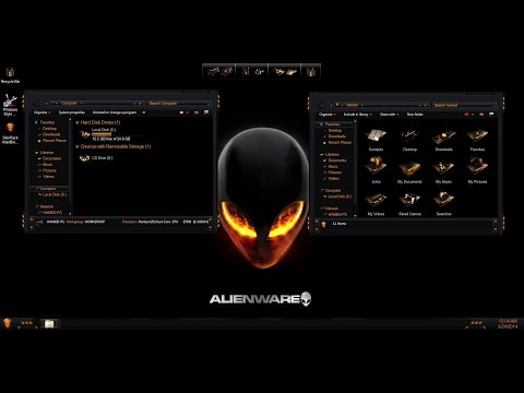 How To Install This Wicked Alienware Theme For Windows 10