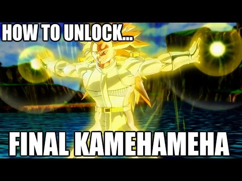 HOW TO UNLOCK FINAL KAMEHAMEHA (2 methods)   Dragon Ball Xenoverse 2