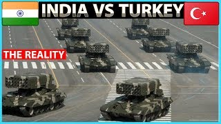 India VS Turkey Military Power Comparison | Who Would Win?