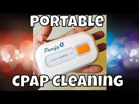 CPAP Cleaning Machine That's Portable & Great for Travel Purify O3