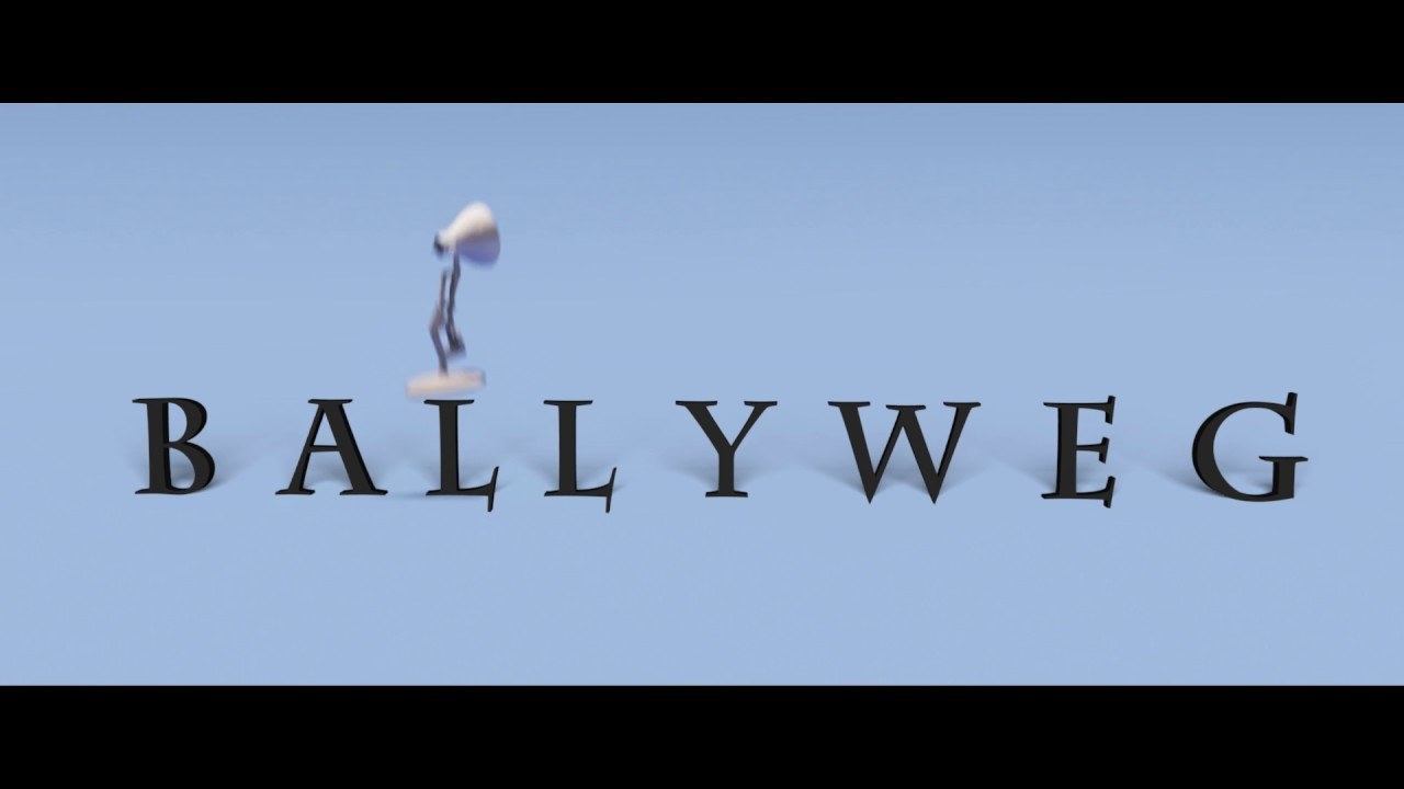 ballyweg pixar intro 2 hd youtube