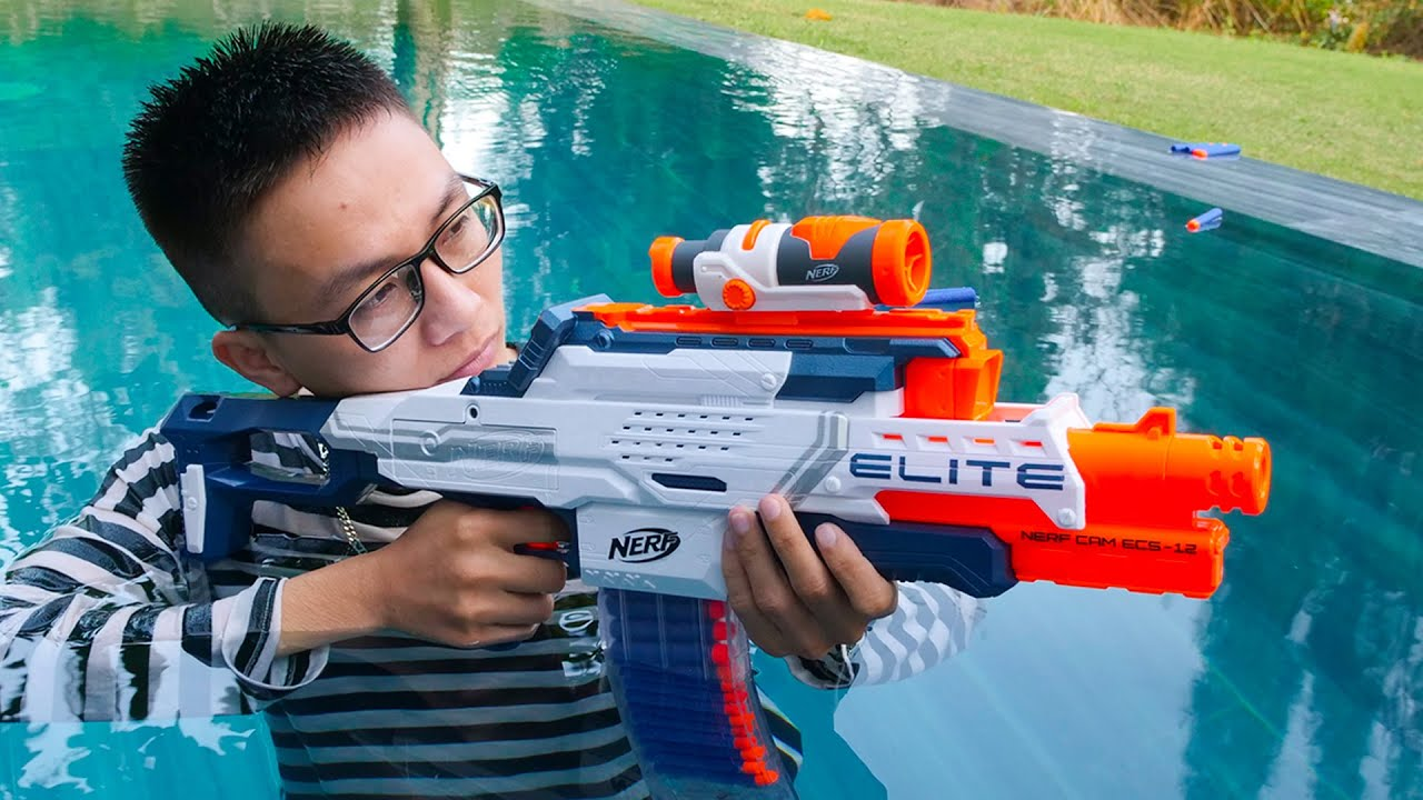 Nerf War: Game Boy Battle