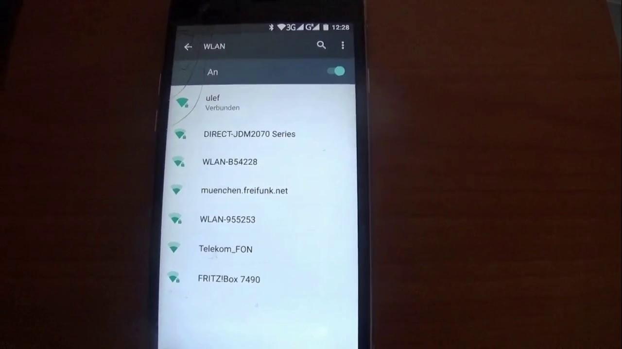 handy mit wlan router verbinden