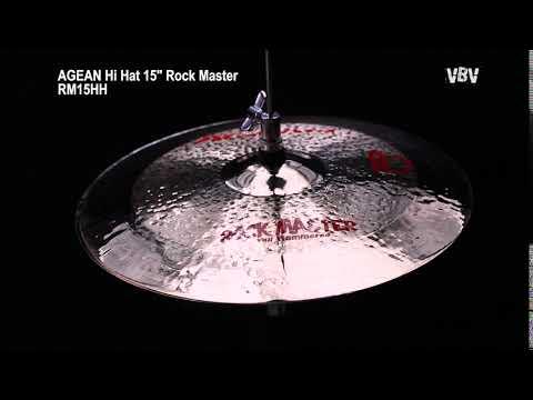 "15"" Hi Hat Rock Master video"