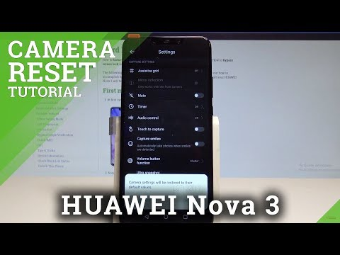 Reset Camera HUAWEI Nova 3i, how to - HardReset info