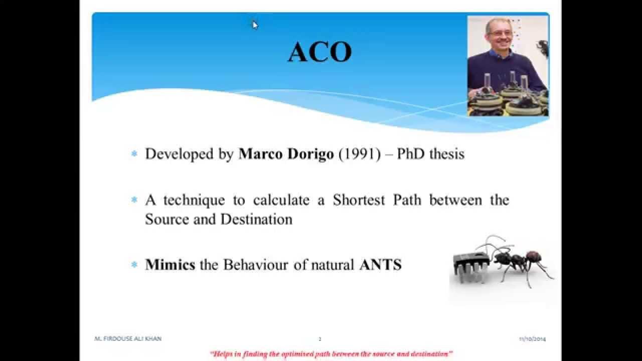 Colony pdf ant optimization